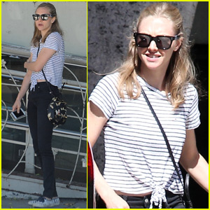 Amanda Seyfried Spends Time With Her Pup Post Justin Long Break Up