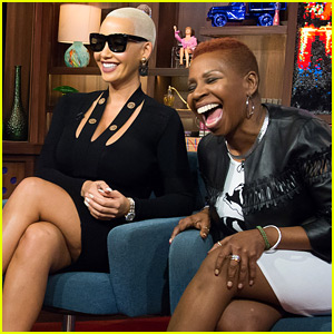Amber Rose Asked to Rank Kardashians/Jenners From Least to Most Interesting (Video)