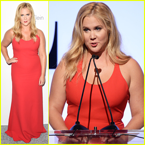 Amy Schumer Gives Hilarious Speech At Elle's Women in Hollywood Awards 2015 - Watch Here!