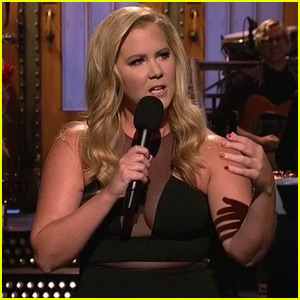 Amy Schumer Jokes About Dating Bradley Cooper in 'SNL' Monologue - Watch Now!