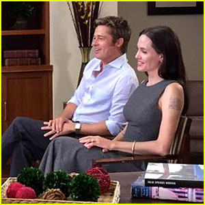 Angelina Jolie & Brad Pitt Give Rare Interview Together (Video)