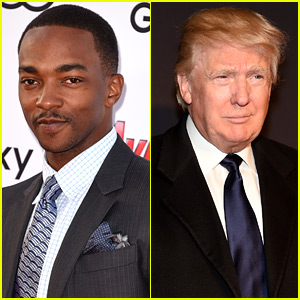 Did Anthony Mackie Endorse Donald Trump? Not So Fast...