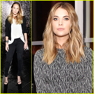 Dylan Penn & Ashley Benson Experience The Rain Room Exhibit at LACMA