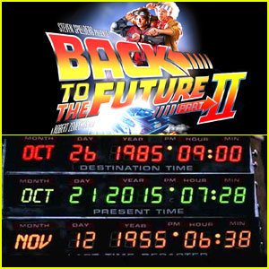 Great Scott - Happy Back to the Future Day!