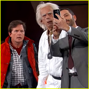 Back to the Future's Marty McFly & Doc Brown Are Not Impressed By the Real 2015 - Watch Now!