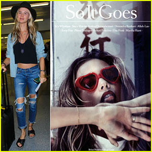 Behati Prinsloo's Eyes Are Full of Love for 'So It Goes' Cover
