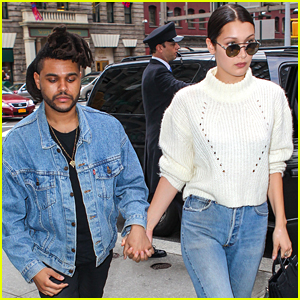 Bella Hadid Holds Hands With The Weeknd For Birthday Lunch