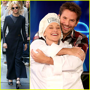 Bradley Cooper Gives Ellen DeGeneres a Hilarious Helping Hand in the Kitchen! (Video)