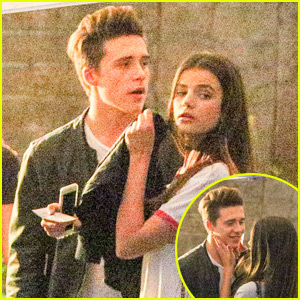 Brooklyn Beckham & Rumored Girlfriend Sonia Ben Ammar Pack on the PDA at Hollywood Bowl Concert