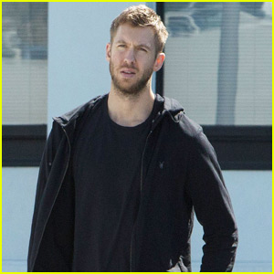 Calvin Harris Runs Errands Sans Taylor Swift in Santa Monica