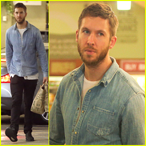 Calvin Harris Makes Whole Foods Run After Shutting Down Taylor Swift Break Up Rumors