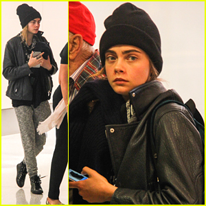 Cara Delevingne Steps Out After News of Rihanna Casting!