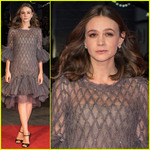 Carey Mulligan Shows Off Post-Baby Body at 'Suffragette' Screening in London