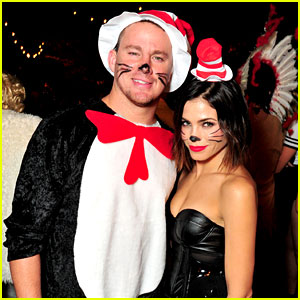 Channing Tatum & Jenna Dewan Are Halloween's Hottest 'Cat in the Hat' Duo!