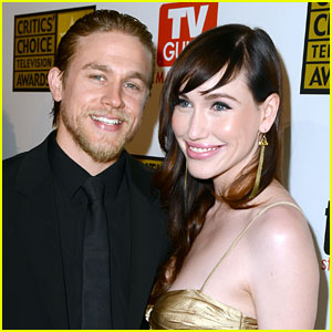 Charlie Hunnam's Girlfriend Dishes Out Her Relationship Advice