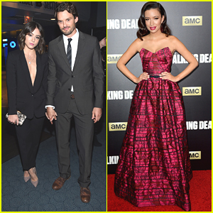 Austin Nichols & Chloe Bennet Couple Up For 'The Walking Dead' Fan Premiere Event