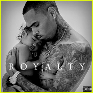 Chris Brown Reveals Heartwarming 'Royalty' Album Cover!