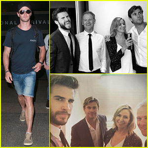 Chris Hemsworth Shares a 'Strange Family Portrait' on Instagram!