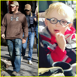 Chris Pratt & Anna Faris' Son Jack Is the Cutest!