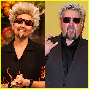 Chrissy Teigen Dresses as Guy Fieri For FABLife's Halloween!