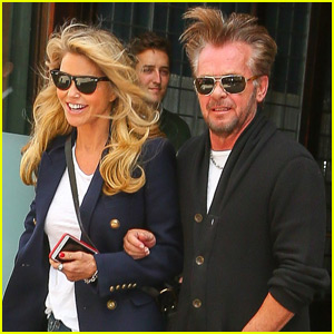 Christie Brinkley & John Mellencamp Step Out For New York City Date