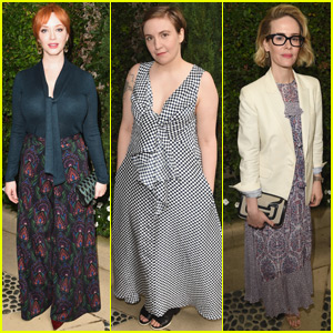 Christina Hendricks & Lena Dunham Attend The Rape Foundation's Annual Brunch With Sarah Paulson