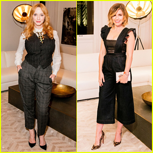 Christina Hendricks & Sophia Bush Celebrate RH Chicago Grand Opening!
