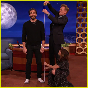 Conan O'Brien Cracks The Mystery Of Jake Gyllenhaal's Height - Watch Here!