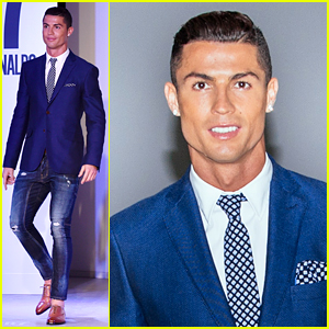 Cristiano Ronaldo Makes His Runway Debut for CR7 Collection