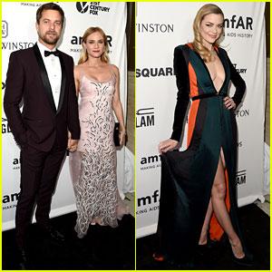 Diane Kruger & Jaime King Go Glam for amfAR's LA Gala!