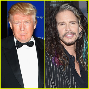 Steven Tyler Threatening to Sue Donald Trump Over 'Dream On' Use During Campaign