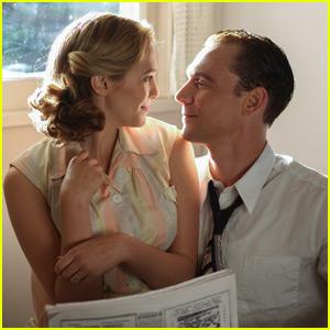 Elizabeth Olsen & Tom Hiddleston Cozy Up in 'I Saw the Light'