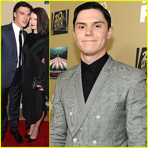 Evan Peters Says To Turn Out The Lights For the 'American Horror Story: Hotel' Premiere
