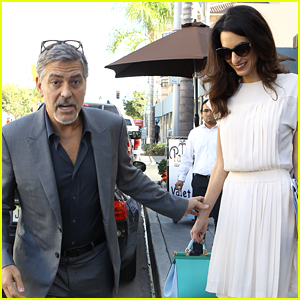 George & Amal Clooney Grab Lunch with a High-Profile Friend