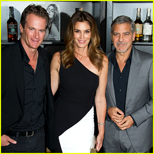George Clooney Dishes On Drunken Nights with Cindy Crawford