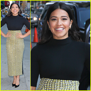Stephen Colbert Wants To Join Gina Rodriguez's Cult After Hearing Her Father's Mantra Again