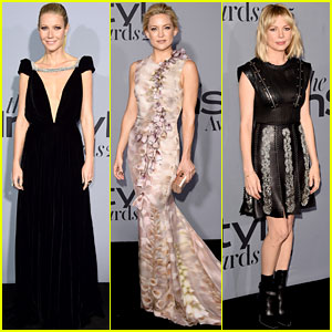 Gwyneth Paltrow, Kate Hudson, & More Show Off Their Style at Getty Center