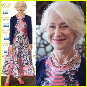 Helen Mirren Takes 'Woman In Gold' To Rome