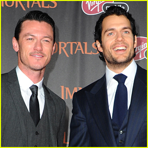 Henry Cavill & Luke Evans Set Their Big Screen Reunion!