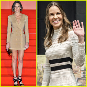 Hilary Swank Enjoys Japan As She Promotes 'You're Not You'