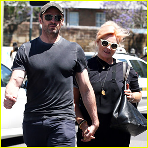 Hugh Jackman Has a Day Date with His Wife Deborra Lee Furness