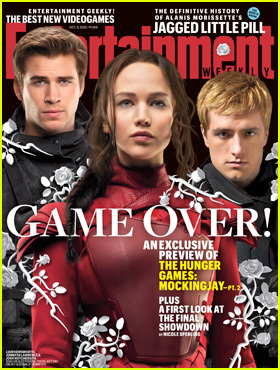 Jennifer Lawrence Previews 'Hunger Games: Mockingjay - Part 2' With Liam Hemsworth & Josh Hutcherson on 'EW Cover'