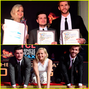 The 'Hunger Games' Cast Makes Their Mark Outside The TCL Chinese Theatre