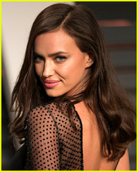 Irina Shayk Strips Down for Lingerie Photo Shoot