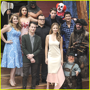 Jack Black Haunts the Premiere of 'Goosebumps' with Odeya Rush