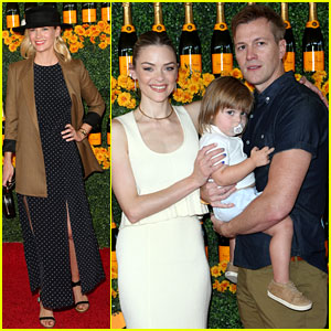 Jaime King Makes the Polo Classic a Fun Family Outing!