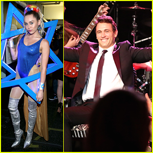 Miley Cyrus Performs at James Franco's Bar Mitzvah For Hilarity For Charity