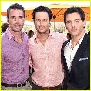 James Marsden & Scott Foley Are Classic Guys at Polo Match!