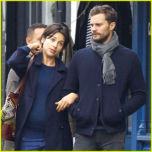 Jamie Dornan Walks Arm-in-Arm with Wife Amelia Warner in London
