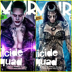 Jared Leto & Cara Delevingne: More 'Suicide Squad' Covers!